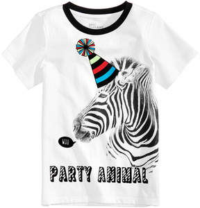 Epic Threads Party Animal Graphic-Print T-Shirt, Little Boys, Created for Macy's
