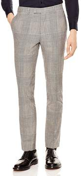 Sandro Peak Glen Check Slim Fit Trousers