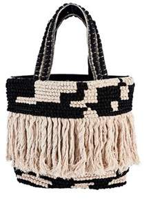 San Diego Hat Company Women's Woven Shopper Bag Bsb3544.