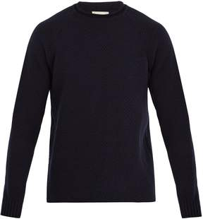 Oliver Spencer Albany honeycomb wool-knit sweater