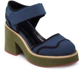 Marni Contrast Mary Jane Sandals