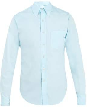 Prada Single-cuff cotton-oxford shirt