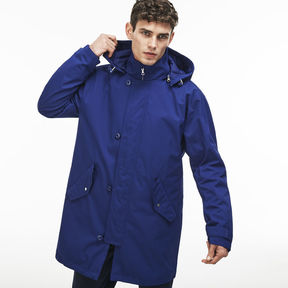 Lacoste Men's 3-in-1 Water-resistant Quilted Hooded Parka