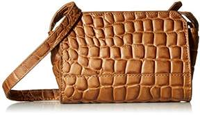 Liebeskind Berlin Women's Hollywood Croco Embossed Structured Mini Crossbody