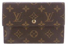 Louis Vuitton Monogram Porte-Trésor Étui Papier Wallet - BROWN - STYLE