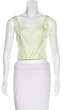 Alberto Makali Sleeveless Crop Top