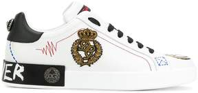 Dolce & Gabbana appliqués sneakers
