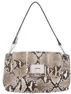 Tiffany & Co. Snakeskin Hadley Shoulder Bag