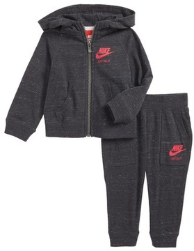 Nike Infant Girl's Zip-Up Hoodie & Pants Set
