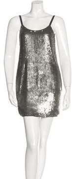 Catherine Malandrino Silk Sequin Dress