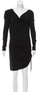 ALICE by Temperley Cowl Neck Long Sleeve Dress