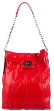 Roger Vivier Leather Mikado Shoulder Bag