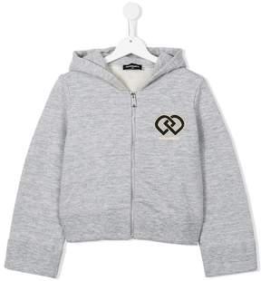 DSQUARED2 DD logo hoodie