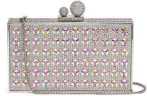 Sophia Webster 'Clara' glass crystal box clutch