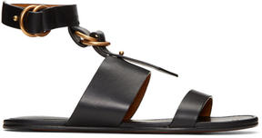 Chloé Black Kingsley Sandals