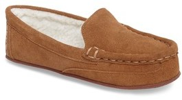 Tucker + Tate Boy's Corbin Faux Fur Lined Moccasin