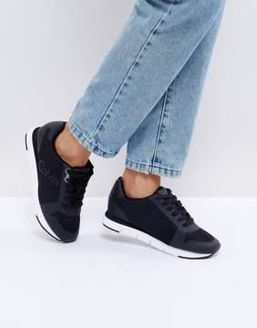 Calvin Klein Jeans Taline Black Mesh Sneakers