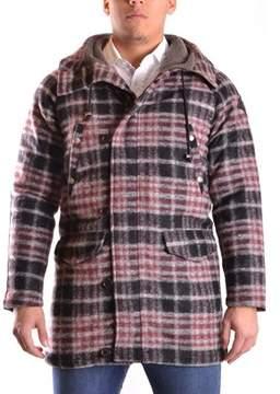 Meltin Pot Men's Multicolor Wool Coat.