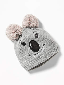Old Navy Sweater-Knit Critter Beanie for Girls