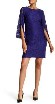 Nine West Elegant Boatneck Lace Dress
