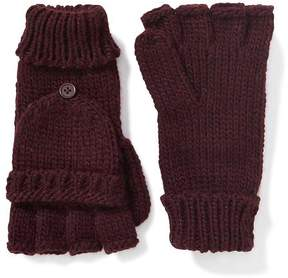 Old Navy Honeycomb-Knit Convertible Gloves for Women