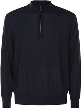 Paul & Shark Knitted Half-Zip Sweater