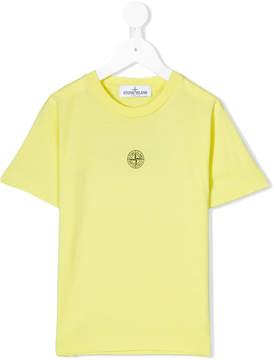 Stone Island Junior logo patch T-shirt