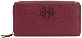 Tory Burch McGraw continental purse - RED - STYLE