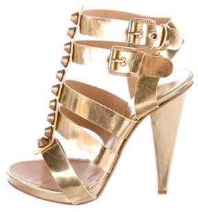 DSQUARED2 Metallic Caged Sandals