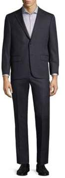 Hickey Freeman Stripe Wool Suit