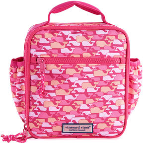 Vineyard Vines Girls Camo Whales Lunchbox