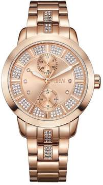 JBW Lumen Rose Gold-Tone Dial Diamond Ladies Watch