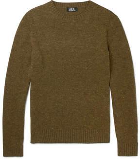 A.P.C. Salford Mélange Wool Sweater