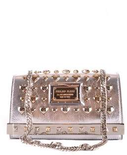 Philipp Plein Women's Multicolor Leather Shoulder Bag.