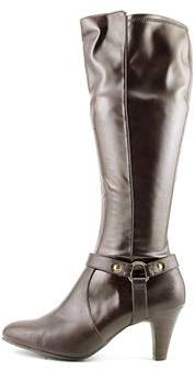 Karen Scott Womens Henson Almond Toe Mid-calf Fashion Boots.