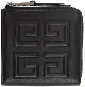 Givenchy Black Medium 4G Wallet