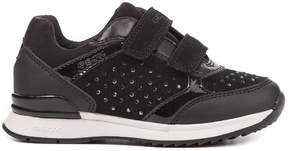 Geox Girls' Maisie Suede Sneaker