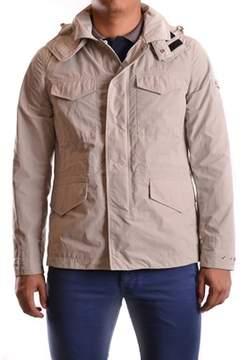 Peuterey Men's Beige Polyamide Outerwear Jacket.