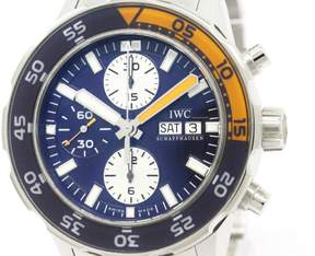 IWC Aqua Timer IW376703 Stainless Steel Automatic 44mm Mens Watch