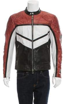 Belstaff Morleigh Leather Cafe Racer Jacket w/ Tags