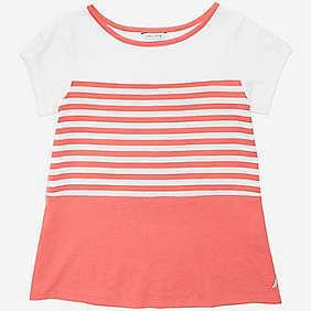 Nautica Girls' Striped Top (8-16)