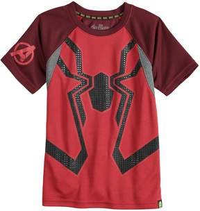 Spiderman Boys 4-10 Marvel Hero Elite Series Avengers Infinity Wars Collection for Kohl's Mesh Active Tee