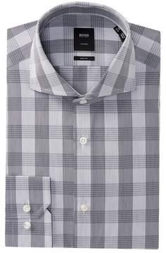 HUGO BOSS Christo Plaid Slim Fit Dress Shirt