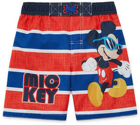 Trunks LICENSED PROPERTIES Mickey Mouse Swim Toddler Boys
