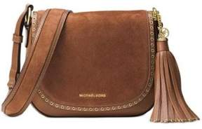 Michael Kors Brooklyn Saddle Crossbody - LUGGAGE - STYLE
