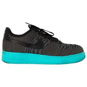 Nike Black Cloth Trainers Air Force 1