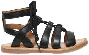 Pom D'Api Nappa Leather Lace-Up Sandals
