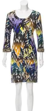 Matthew Williamson Printed Embellished Dress