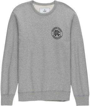 Reigning Champ Crest Logo Crewneck Sweatshirt - Men's
