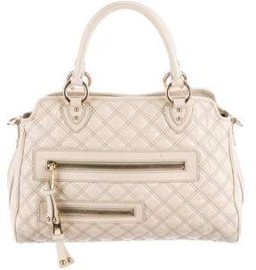 Marc Jacobs Quilted Midler Satchel - NEUTRALS - STYLE